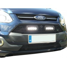 Lazer: Ford Transit Custom - Upper Grille with RS4 Lights