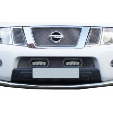 Lazer: Nissan Navara - Lower Grille with RS4 Lights