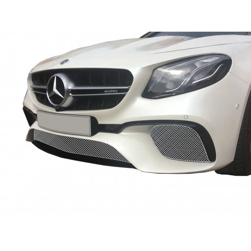 mercedes amg e63 w213 front grill set zunsport. Black Bedroom Furniture Sets. Home Design Ideas