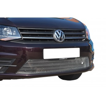 VW Caddy (2nd Facelift With Bumper Lights) - Lower Grille