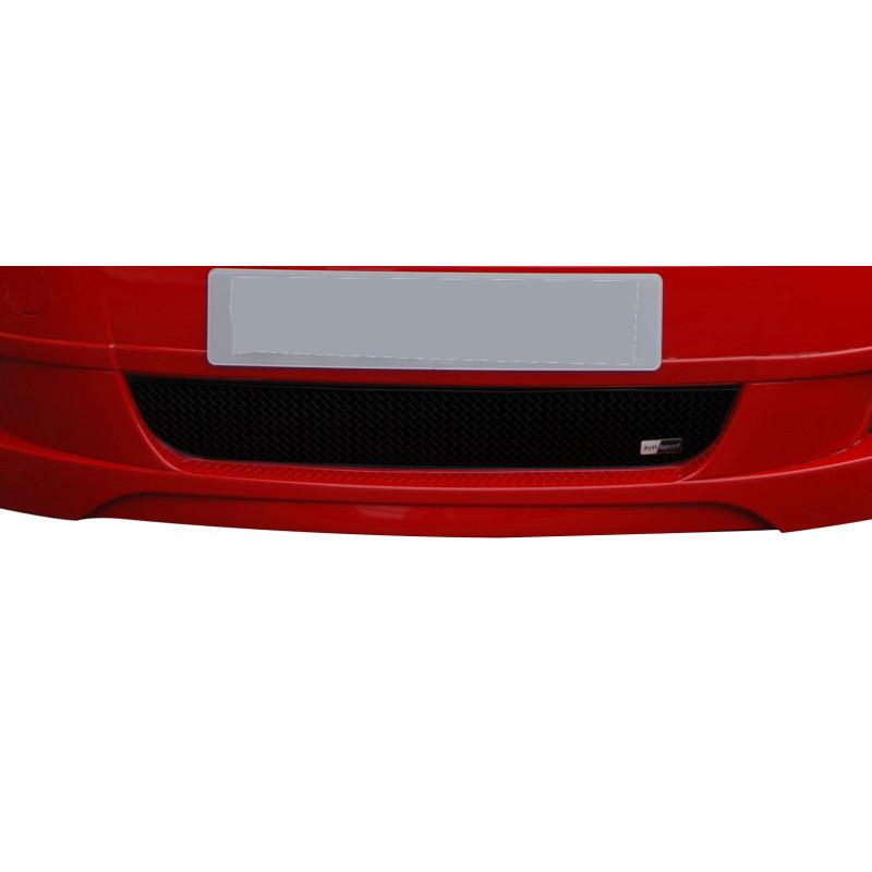 Zunsport Fiat Grande Punto 2006 On Front BLACK Upper Grille Bodykit