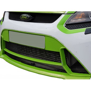 Ford Focus MK2 RS - Front Grille Set (With Locking Mechanism)
