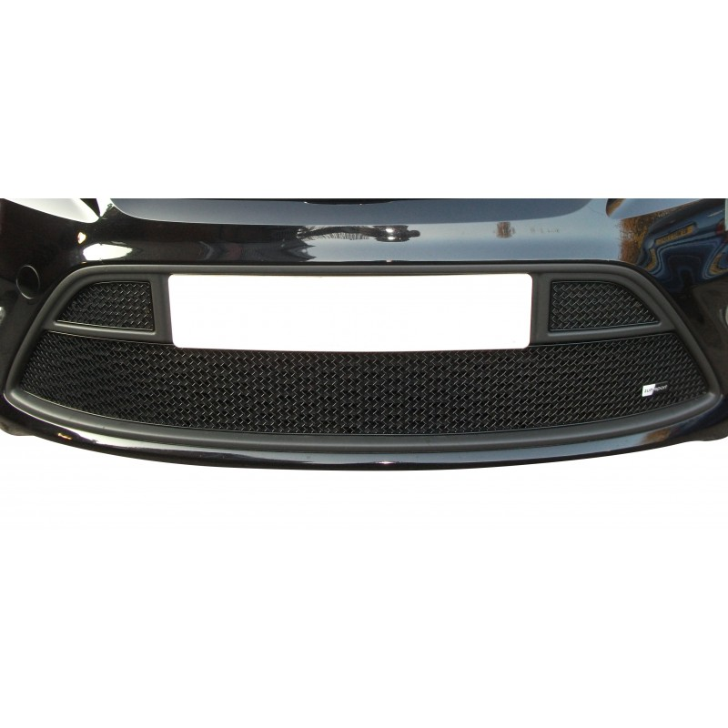 2008 to 2010 Lower Grille Black finish Zunsport Compatible With Ford Focus ST 08MY
