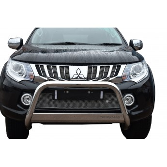 Mitsubishi L200 5th Gen - Front Grille Set - Silver Finish
