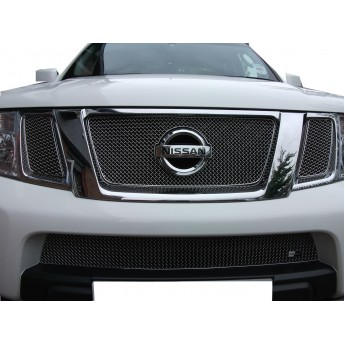 Nissan Navara - Front Grille Set - Silver finish