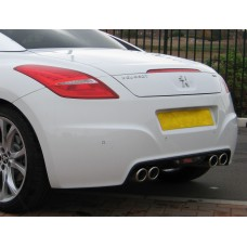 Peugeot RCZ Quad Exhaust Conversion - 1.6 200hp