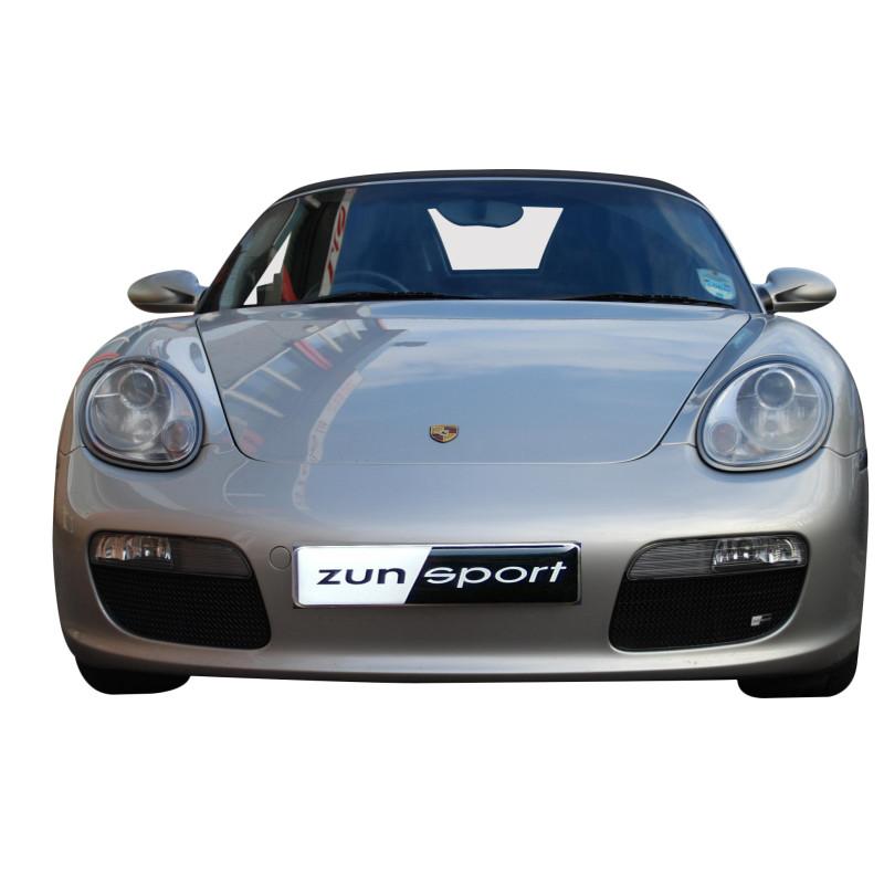 Finition Argent Calandre Centrale 1996 /à 2004 Zunsport Compatible avec Porsche Boxster S 986