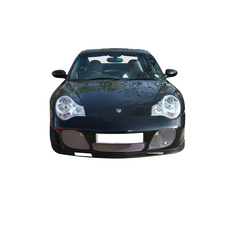 Zunsport Black Centre Mesh Grillon Porsche 996 Turbo and c4s
