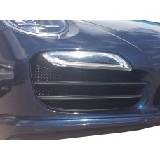 Porsche 991 Turbo Gen 1 - Outer Grille Set  (Without Parking Sensors)