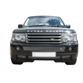 Range Rover Sport - Front Grille Set - Silver finish