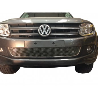VW Amarok - Lower Grille - Silver finish